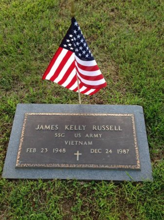 RUSSELL (VETERAN VIET), JAMES KELLY - Carroll County, Tennessee | JAMES KELLY RUSSELL (VETERAN VIET) - Tennessee Gravestone Photos