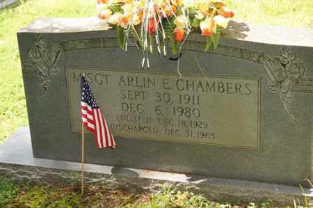 CHAMBERS, ARLIN E. - Carter County, Tennessee   ARLIN E. CHAMBERS - Tennessee Gravestone Photos
