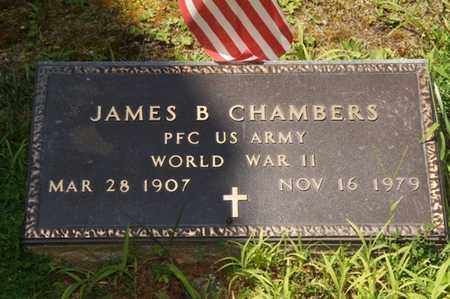 CHAMBERS (VETERAN WWII), JAMES B. - Carter County, Tennessee | JAMES B. CHAMBERS (VETERAN WWII) - Tennessee Gravestone Photos