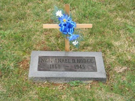 """HODGE, NATHANIEL H. """"NATHAN"""" - Carter County, Tennessee   NATHANIEL H. """"NATHAN"""" HODGE - Tennessee Gravestone Photos"""