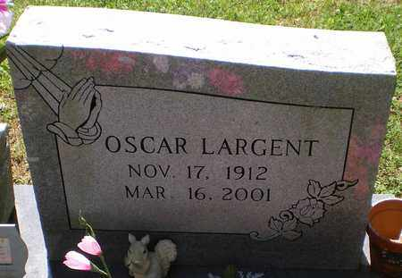 LARGENT, OSCAR - Carter County, Tennessee | OSCAR LARGENT - Tennessee Gravestone Photos