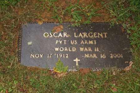 LARGENT (VETERAN WWII), OSCAR L. - Carter County, Tennessee | OSCAR L. LARGENT (VETERAN WWII) - Tennessee Gravestone Photos