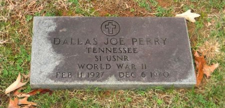 PERRY (VETERAN WWII), DALLAS JOE - Carter County, Tennessee   DALLAS JOE PERRY (VETERAN WWII) - Tennessee Gravestone Photos