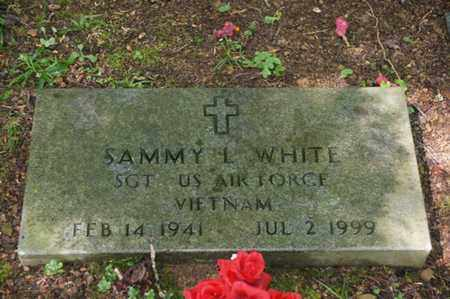 WHITE (VETERAN VIET), SAMMY L. - Carter County, Tennessee | SAMMY L. WHITE (VETERAN VIET) - Tennessee Gravestone Photos
