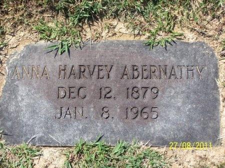 HARVEY ABERNATHY, ANNA - Cheatham County, Tennessee   ANNA HARVEY ABERNATHY - Tennessee Gravestone Photos