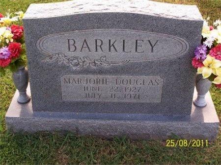 DOUGLAS BARKLEY, MARJORIE - Cheatham County, Tennessee   MARJORIE DOUGLAS BARKLEY - Tennessee Gravestone Photos