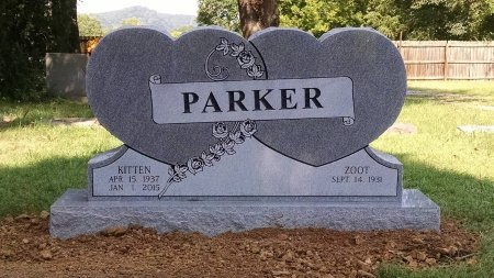 REDING PARKER, KITTEN - Cheatham County, Tennessee | KITTEN REDING PARKER - Tennessee Gravestone Photos