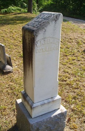 """DEMING, MADISON MONROE """"ROE"""" - Chester County, Tennessee 