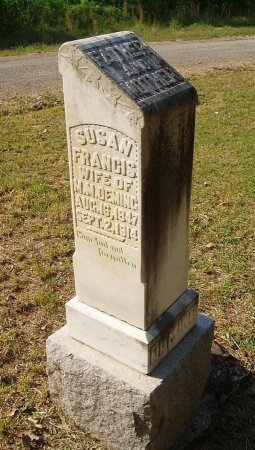 DEMING, SUSAN FRANCES - Chester County, Tennessee | SUSAN FRANCES DEMING - Tennessee Gravestone Photos