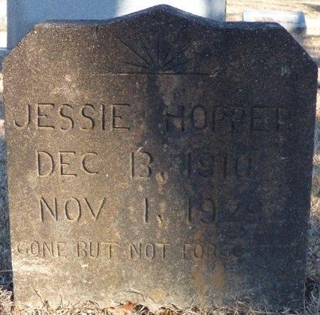 HOPPER, JESSIE - Chester County, Tennessee   JESSIE HOPPER - Tennessee Gravestone Photos