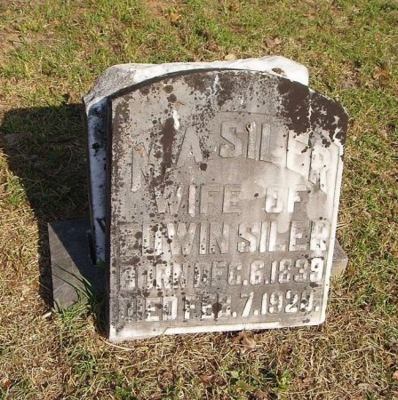 SILER, M. A. - Chester County, Tennessee   M. A. SILER - Tennessee Gravestone Photos