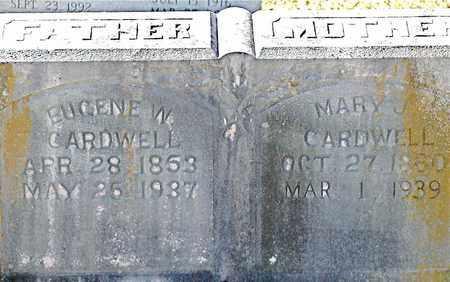 CARDWELL, MARY JANE (CLOSE UP) - Claiborne County, Tennessee | MARY JANE (CLOSE UP) CARDWELL - Tennessee Gravestone Photos