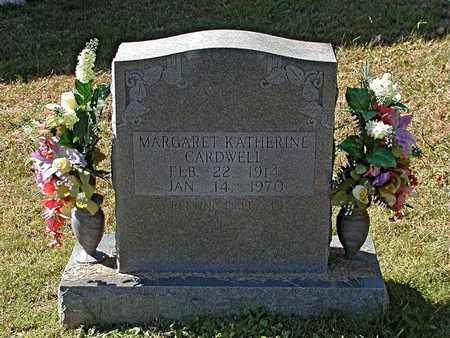 CARDWELL, MARGARET KATHERINE - Claiborne County, Tennessee | MARGARET KATHERINE CARDWELL - Tennessee Gravestone Photos