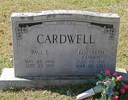 CARDWELL, PAUL E. - Claiborne County, Tennessee | PAUL E. CARDWELL - Tennessee Gravestone Photos