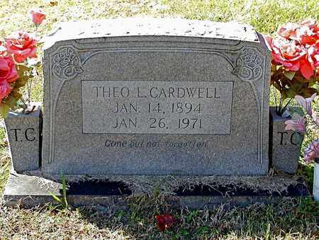 CARDWELL, THEO L. - Claiborne County, Tennessee | THEO L. CARDWELL - Tennessee Gravestone Photos