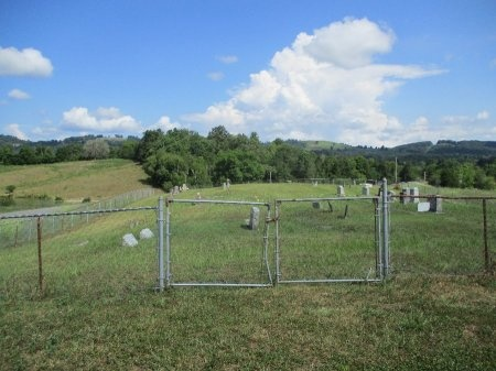 *CEMETERY VIEW,  - Claiborne County, Tennessee |  *CEMETERY VIEW - Tennessee Gravestone Photos