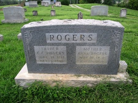ROGERS, C. C. - Claiborne County, Tennessee | C. C. ROGERS - Tennessee Gravestone Photos