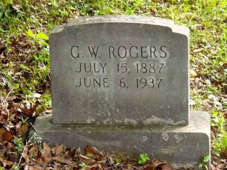 ROGERS, G. W. - Claiborne County, Tennessee | G. W. ROGERS - Tennessee Gravestone Photos