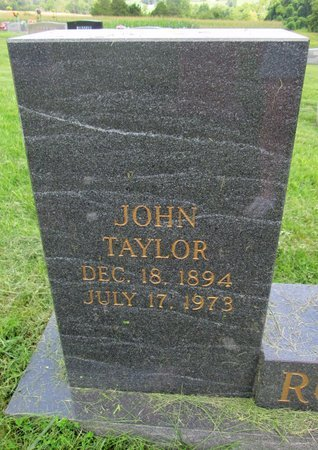 ROGERS, JOHN TAYLOR - Claiborne County, Tennessee | JOHN TAYLOR ROGERS - Tennessee Gravestone Photos