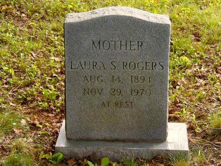 ROGERS, LAURA S. - Claiborne County, Tennessee | LAURA S. ROGERS - Tennessee Gravestone Photos