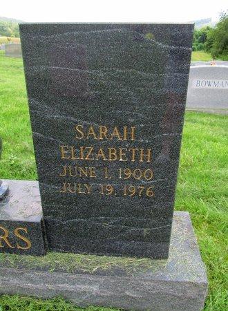 ROGERS, SARAH ELIZABETH - Claiborne County, Tennessee   SARAH ELIZABETH ROGERS - Tennessee Gravestone Photos