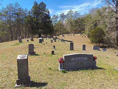 *ROSE CEMETERY OVERVIEW,  - Claiborne County, Tennessee |  *ROSE CEMETERY OVERVIEW - Tennessee Gravestone Photos