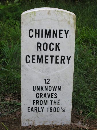 *CHIMNEY ROCK SIGN,   - Clay County, Tennessee |   *CHIMNEY ROCK SIGN - Tennessee Gravestone Photos