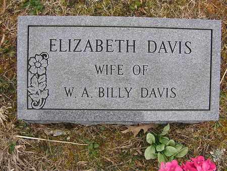 DAVIS, ELIZABETH - Clay County, Tennessee | ELIZABETH DAVIS - Tennessee Gravestone Photos