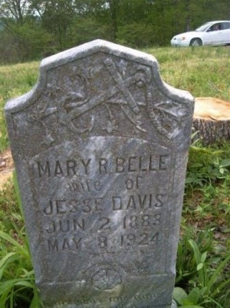 BROWN DAVIS, MARY ARBELL - Clay County, Tennessee | MARY ARBELL BROWN DAVIS - Tennessee Gravestone Photos