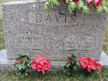DAVIS, RAYMOND - Clay County, Tennessee   RAYMOND DAVIS - Tennessee Gravestone Photos