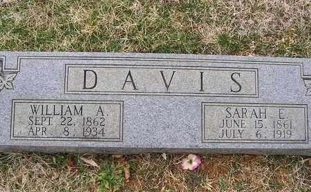 DAVIS, WILLIAM A. - Clay County, Tennessee | WILLIAM A. DAVIS - Tennessee Gravestone Photos