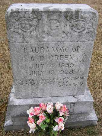 GREEN, LAURA - Clay County, Tennessee | LAURA GREEN - Tennessee Gravestone Photos
