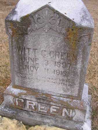 GREEN, WITT C. - Clay County, Tennessee | WITT C. GREEN - Tennessee Gravestone Photos