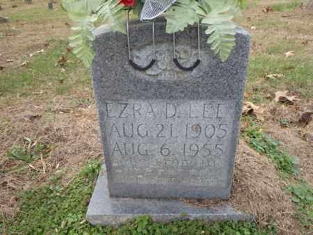LEE, EZRA D. - Clay County, Tennessee | EZRA D. LEE - Tennessee Gravestone Photos