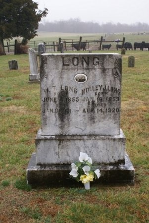 LONG, MOLLY JANE - Clay County, Tennessee | MOLLY JANE LONG - Tennessee Gravestone Photos