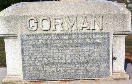 GORMAN  (VETERAN CSA), THOMAS SANDUSKY - Cocke County, Tennessee | THOMAS SANDUSKY GORMAN  (VETERAN CSA) - Tennessee Gravestone Photos