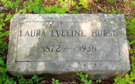 FREE HURST, LAURA EVELINE - Cocke County, Tennessee | LAURA EVELINE FREE HURST - Tennessee Gravestone Photos