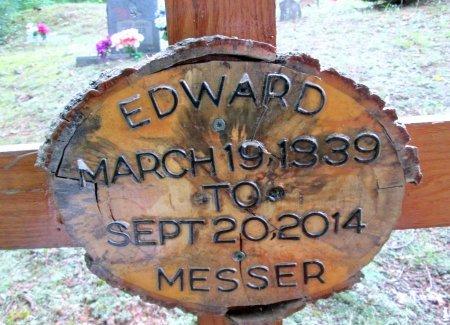 MESSER, EDWARD - Cocke County, Tennessee | EDWARD MESSER - Tennessee Gravestone Photos
