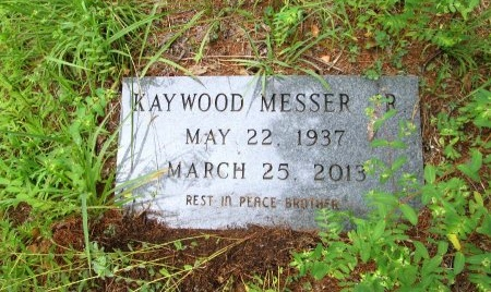 MESSER JR, KAYWOOD - Cocke County, Tennessee | KAYWOOD MESSER JR - Tennessee Gravestone Photos