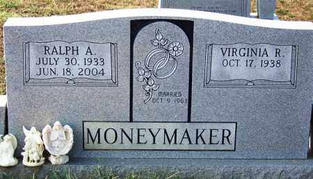 MONEYMAKER, RALPH A - Cocke County, Tennessee   RALPH A MONEYMAKER - Tennessee Gravestone Photos