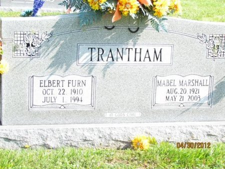TRANTHAM, MABEL - Cocke County, Tennessee | MABEL TRANTHAM - Tennessee Gravestone Photos