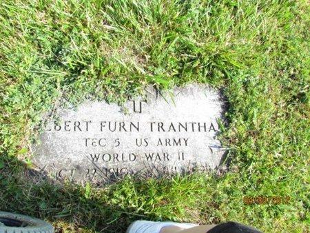 TRANTHAM (VETERAN WWII), ALBERT FURN - Cocke County, Tennessee   ALBERT FURN TRANTHAM (VETERAN WWII) - Tennessee Gravestone Photos