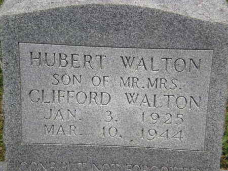 WALTON, HUBERT - Cocke County, Tennessee   HUBERT WALTON - Tennessee Gravestone Photos