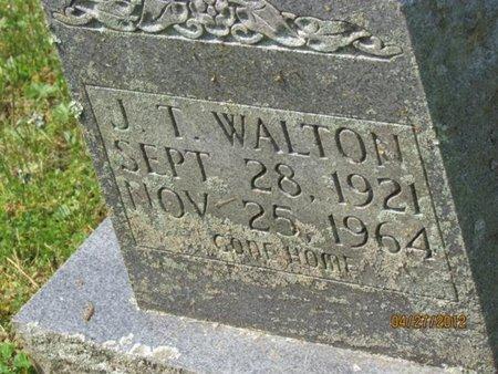 WALTON, J. T. - Cocke County, Tennessee | J. T. WALTON - Tennessee Gravestone Photos