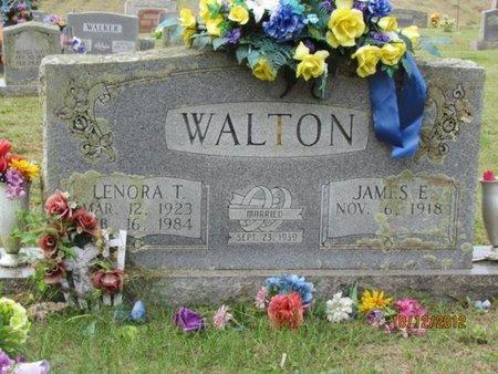 WALTON, LENORA T. - Cocke County, Tennessee | LENORA T. WALTON - Tennessee Gravestone Photos