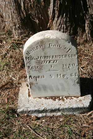 ANDERSON, NORAH - Coffee County, Tennessee | NORAH ANDERSON - Tennessee Gravestone Photos