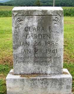 CARDEN, CLARA F. - Coffee County, Tennessee   CLARA F. CARDEN - Tennessee Gravestone Photos