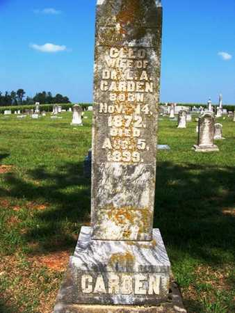 """CARDEN, CLEOPATRA """"CLEO"""" - Coffee County, Tennessee 