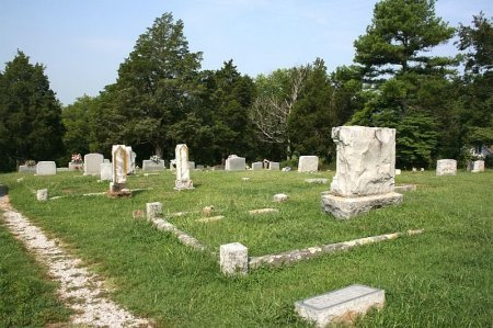 *CEMETERY VIEW,  - Coffee County, Tennessee |  *CEMETERY VIEW - Tennessee Gravestone Photos