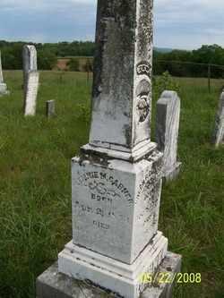 GARNER, CLEMMIE M. - Coffee County, Tennessee | CLEMMIE M. GARNER - Tennessee Gravestone Photos